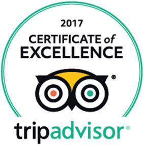 certificado de excelencia en tripadvisor en hotel en trenque lauquen