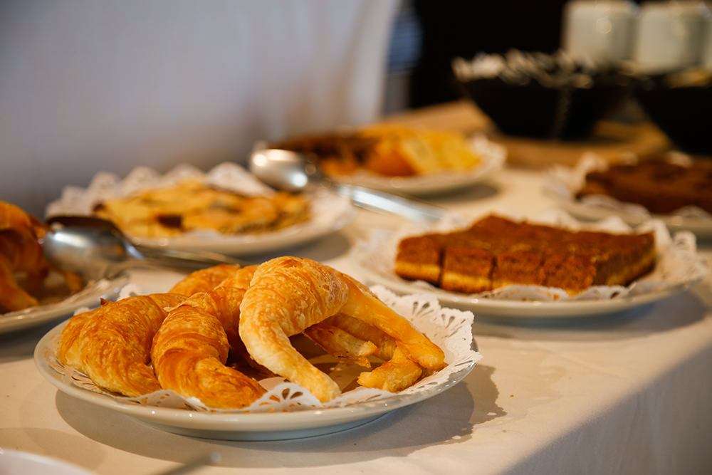 Desayuno buffet, dulces
