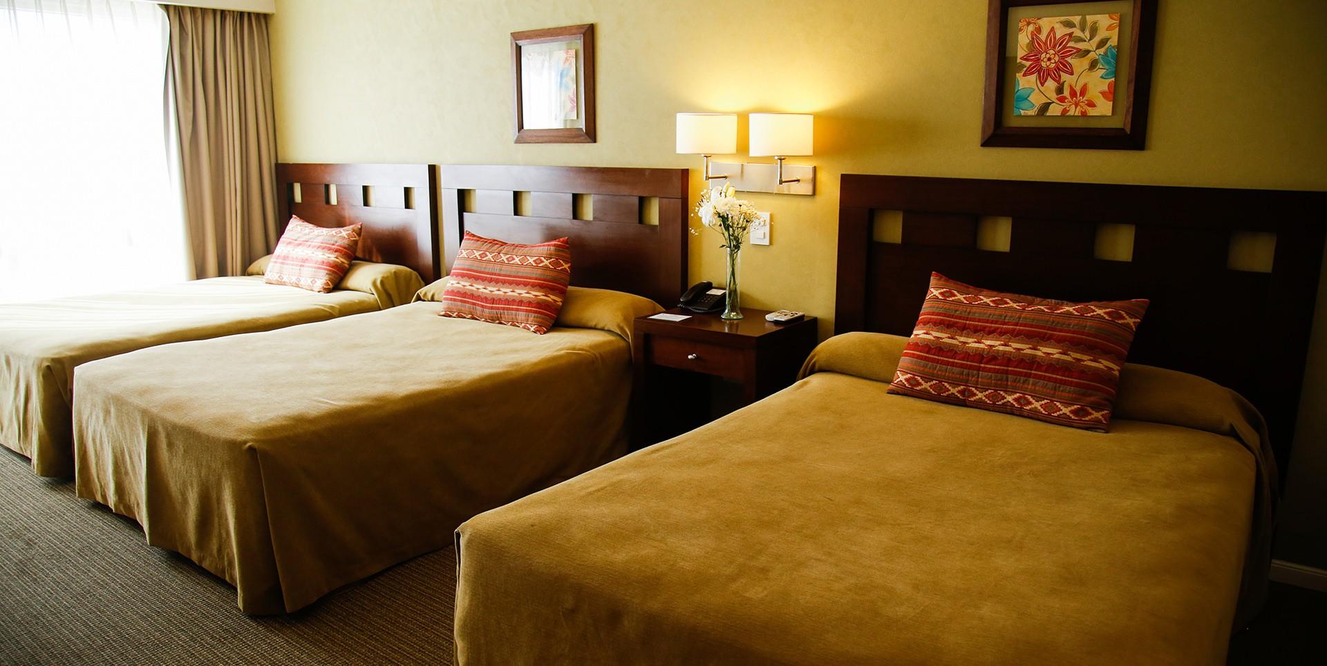 Habitacion Triple Hotel Howard Jhonson Trenque Lauquen